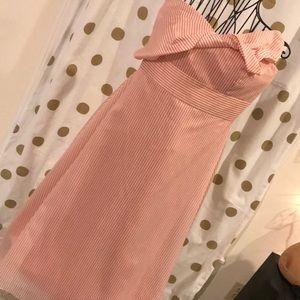 NWT Gianni Bini Strapless Bow Front Dress - Sz 10